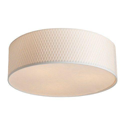 """IKEA """"АЛЭНГ""""Потолочный светильник, белый"""