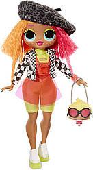 ЛОЛ Сюрприз! Модная кукла Леди-неон L.O.L. Surprise! O.M.G. Neonlicious Fashion Doll with 20 Surprises