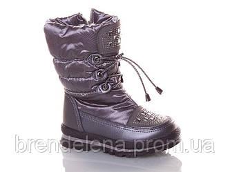 Зимние детские ботинки для девочки (р28)