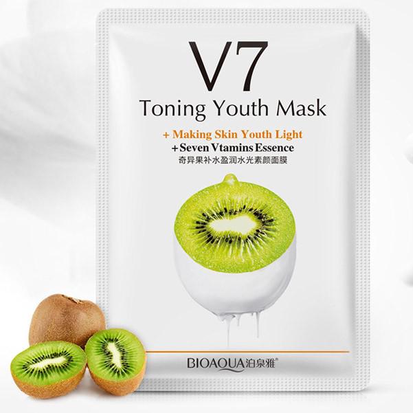 BIOAQUA Toning Youth Mask Kiwi