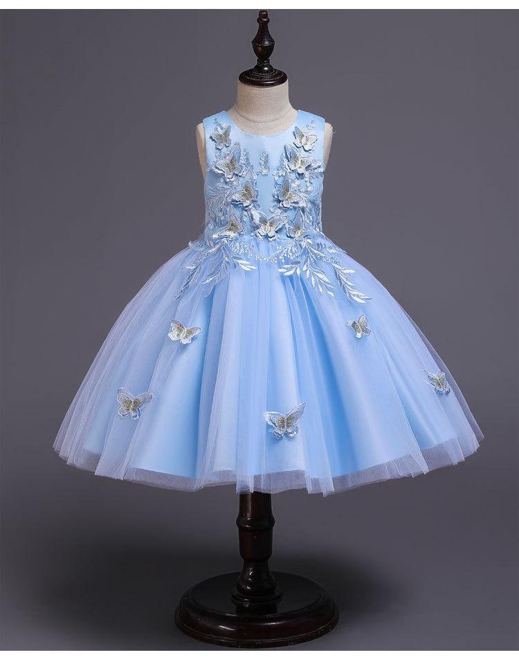 Ошатне бальне плаття небесне. Elegant ball gown heavenly.на дівчинку 5-12 років2021