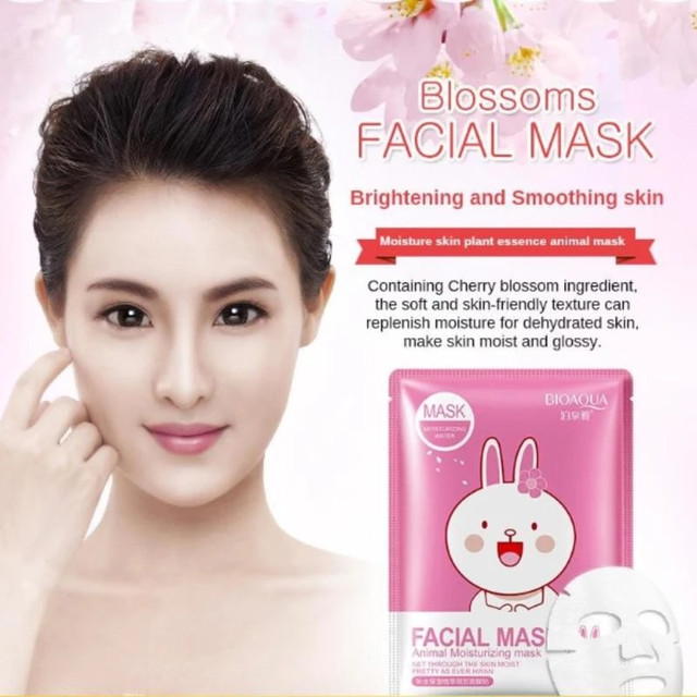 BIOAQUA Facial Mask Animal Rabbit​​​​​​​
