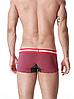 Мужские БОКСЕРЫ, мини - шорты Seobean, боксерки фиолет в полоску, ХЛОПОК, чоловічі труси боксери,, фото 5