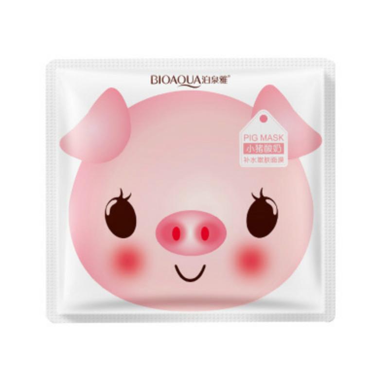 Питательная маска с йогуртовыми ферментами BIOAQUA Yogurt Pig Mask
