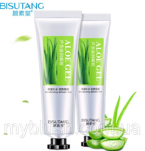 Гель для лица Bisutang Aloe деликатный уход 30 g