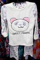 Пижама теплая Турция флис и мех размер XL отличное качество