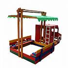 Песочница - Пожарная машина SportBaby, фото 4