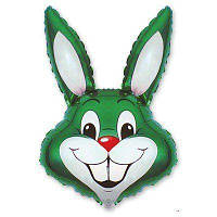 """Фольгированные шары мини-фигуры """"Кролик зеленый"""""""