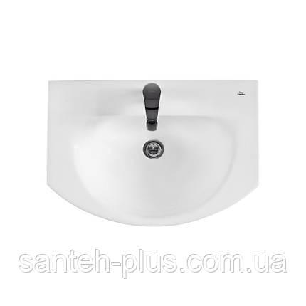 Тумба для ванной комнаты с выдвижным ящиком Грация Т3 с умывальником Лотос-70, фото 2