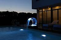 Прозрачный водопад (сопло) с LED и пультом управления