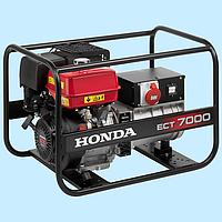 Генератор бензиновый трехфазный HONDA ECT7000 (6.5 кВт), фото 1