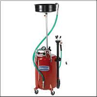 Flexbimec 3164 - Установка откачки-слива отработанного масла объемом 60 л с 10-ти литровой воронкой