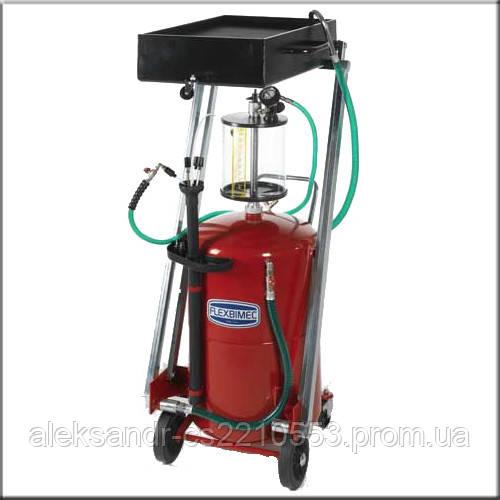 Flexbimec 3192 - Грузовая установка для откачки-слива масла с пантографом объемом 115 л