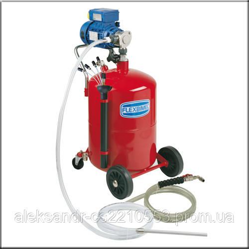 Flexbimec 3071 - Электрическая передвижная установка для откачки отработанного масла