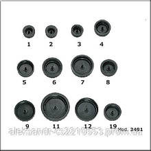 Flexbimec 3491 - Комплект заглушек для современных моделей автомобилей