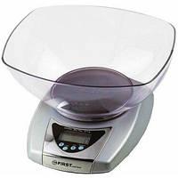 Весы кухонные FIRST FA-6402 Grey