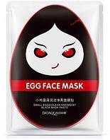 Яичная маска для очищения и увлажнения кожи BIOAQUA Egg Face Mask Black