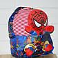 Детский мягкий рюкзак Человек-паук со съемной игрушкой, фото 3