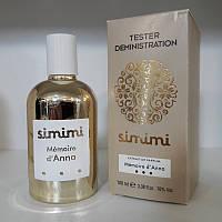 Духи Simimi Memoire d'Anna (Симими Мемоир де Анна) TESTER, 100 мл