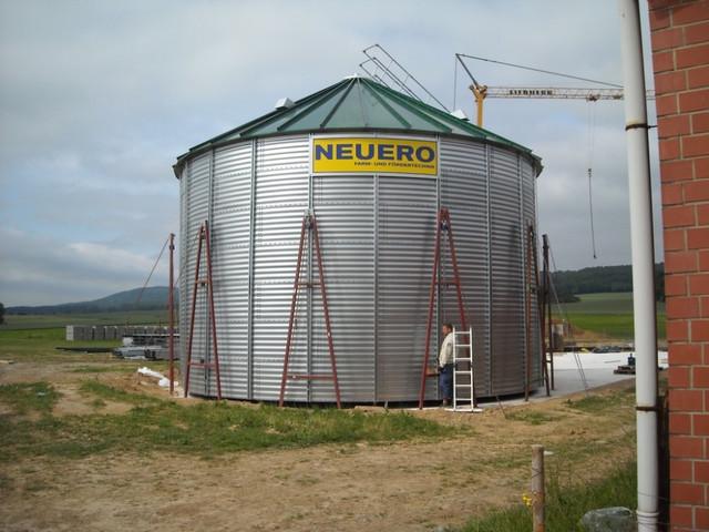 Монтаж элеваторов и силосов для зерна