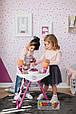 Стульчик для кормления двух кукол двойняшек близнецов Smoby Baby Nurse, фото 5