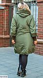 Куртка женская с капюшоном Размеры: 52-54, 56-58, 60-62, 64-66, фото 6