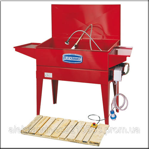 Flexbimec 5905 - Стационарная ванна для мойки деталей с замкнутым циклом