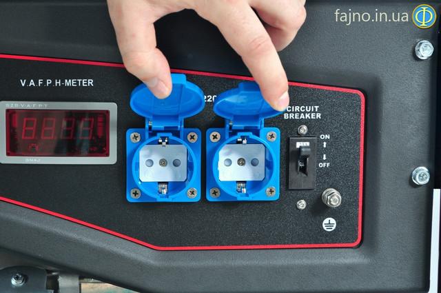 Генератор газ-бензин Лифан на 5 кВт