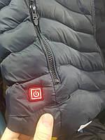 Куртка мужская термо Демисезон С ПОДОГРЕВОМ холлофайбер