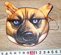 Кошелек 3D собака