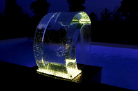 Прозрачный водопад с LED (комплект)