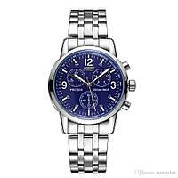 Мужские часы Skmei PRC 200 Chronograph blue (1405) 3Bar