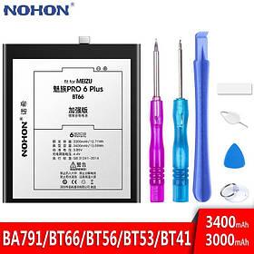 Аккумулятор Nohon BT66 для Meizu PRO 6 Plus (емкость 3300mAh)
