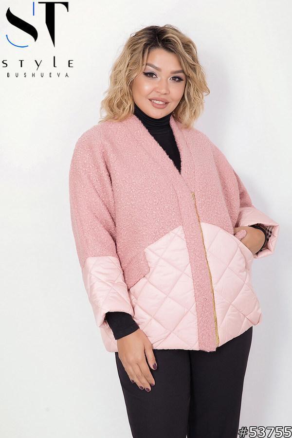 Куртка женская демисезонная большие размеры  48-58