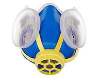 Респиратор маска Тополь Горловка (хрюшка) под два фильтра