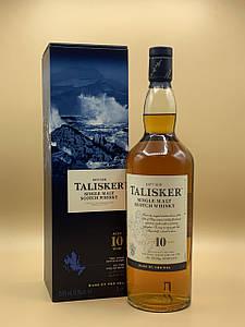 Виски Talisker 10 y.o. 1L Талискер 10 лет 1л