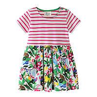 Платье для девочки Цветущие джунгли Jumping Meters