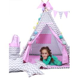 Детские игровые палатки, корзины для игрушек и шарики