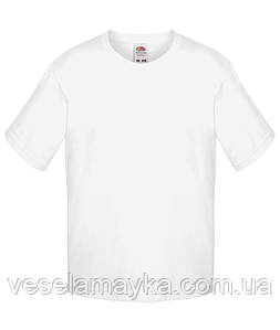 Белая детская футболка Премиум
