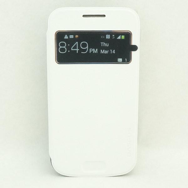 Чехол книжка для смартфона SM-C1010 Samsung Galaxy S4 zoom белый BASEUS