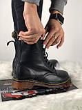 Демисезонные ботинки Dr. Martens 1460 (Premium-class) черные, фото 7