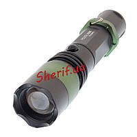 Тактический фонарик Bailong Police BL-1828-T6 50000W (Cree XM-L)