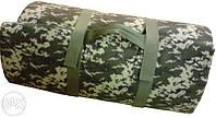 Матрас кемпинг, армейский камуфляж ( для отдыха на природе и походов ).