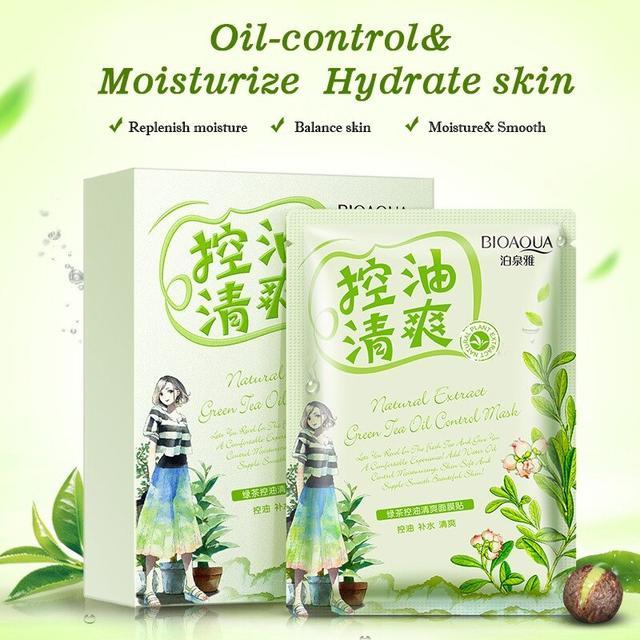 BIOAQUA Green Tea Oil Control Mask