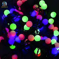 Гирлянда-штора светодиодная мультиколор