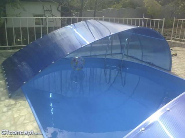Накрытие-консервация для бассейна 18