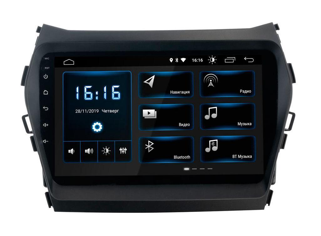 Штатная магнитола Hyundai Santa-Fe 2013-2018 Incar XTA-2409 Android 8.1.0