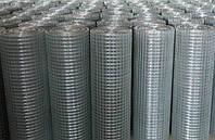 Сетка с ПВХ покрытием сварная 25х25х1,4мм 1,0/30м