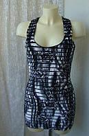 Платье модное туника летняя стрейч бренд Jane Norman р.46