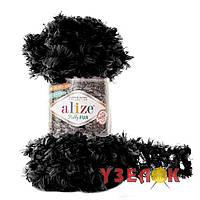 Alize Puffy Fur №6101 черный